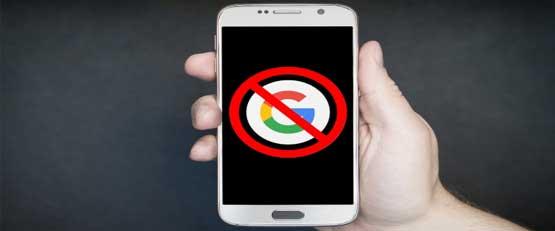 Comment utiliser un smartphone Android sans compte Google ?