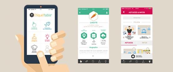 Etiquettable : la nouvelle appli pour adopter une alimentation durable