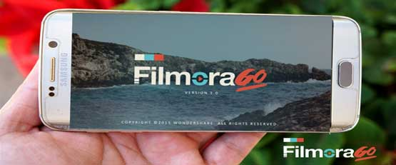 Filmorago, montage vidéo sur smartphone et tablette