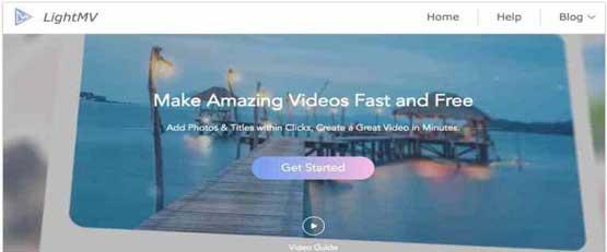 Créer facilement une vidéo à partir de photos avec lightmv