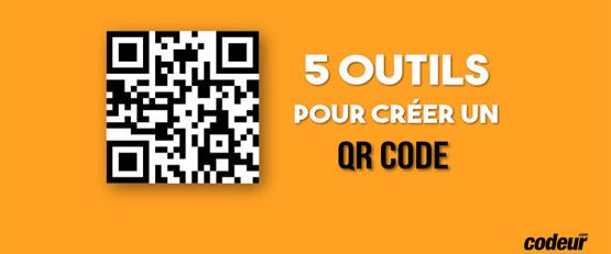 5 outils gratuits pour créer un QR Code