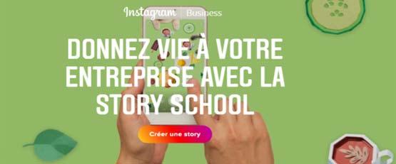 """Instagram lance la """"story school"""""""