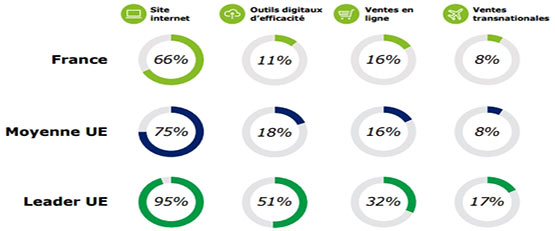 Rapport Deloitte sur la transformation digitale des PME en France