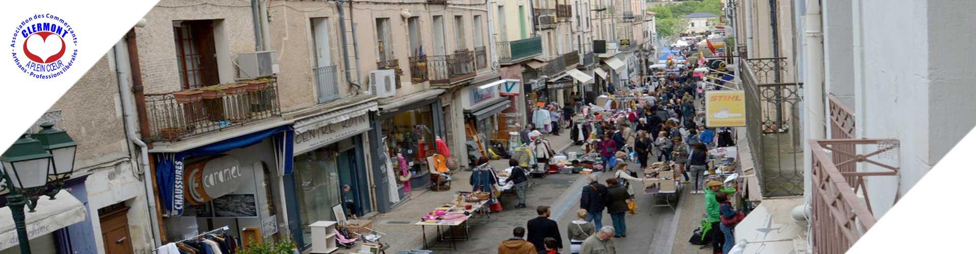 l'association des commerçants et artisans de clermont l'hérault. Clermont Plein Coeur