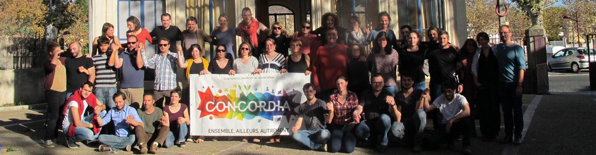 Délégation Sud-Est de l'association Concordia