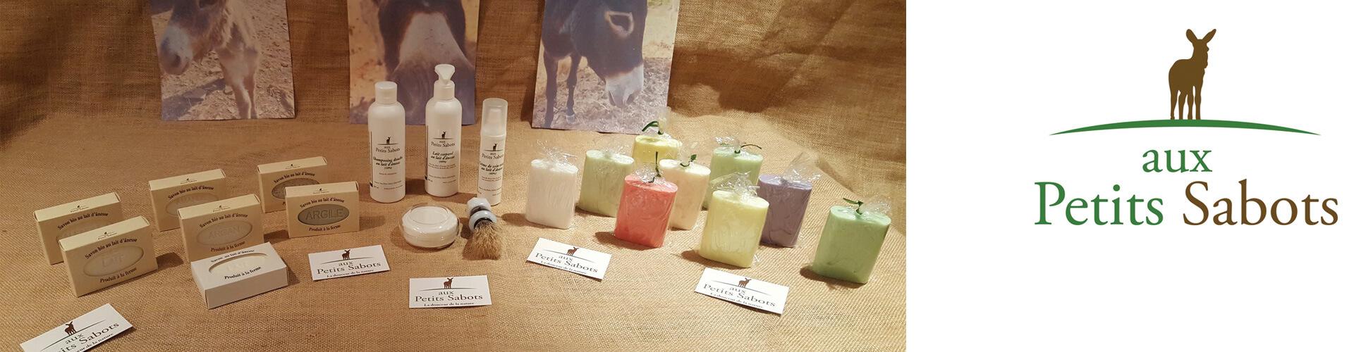 Aux Petits Sabots savon et cosmétiques au lait d'ânesse à Saint Jean de la Blaquière en Coeur d'Hérault