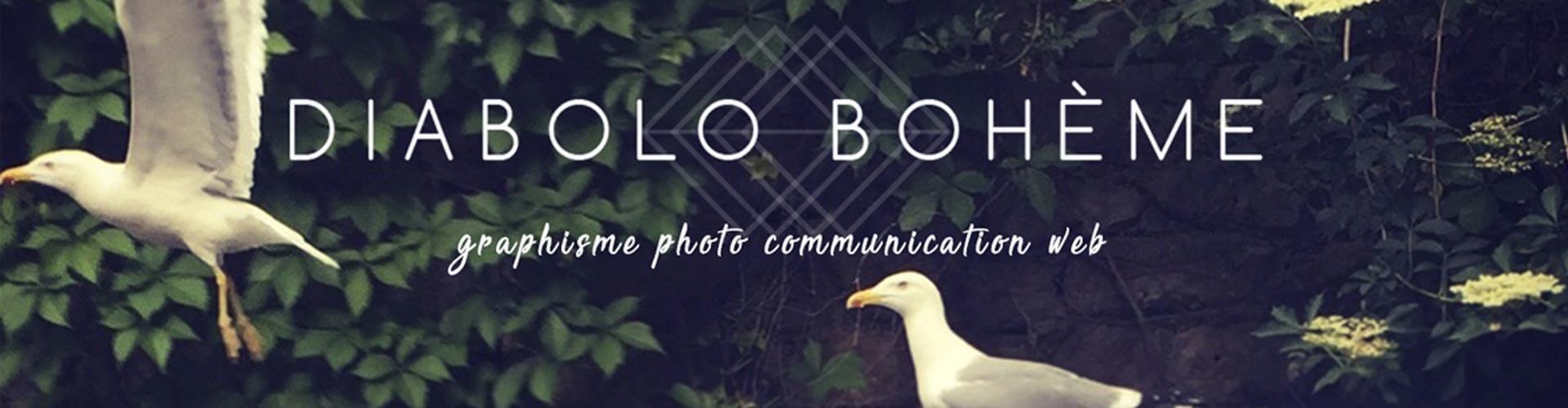 Diabolo Bohème, graphisme, photographie, communication visuelle en Coeur d'Hérault