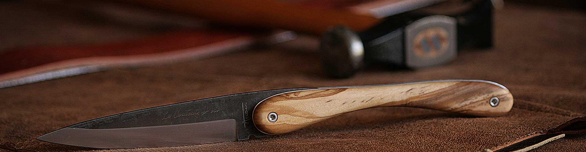 Coutellerie de la Boissière, Benjamin Auzier, designer coutelier dans l'Hérault