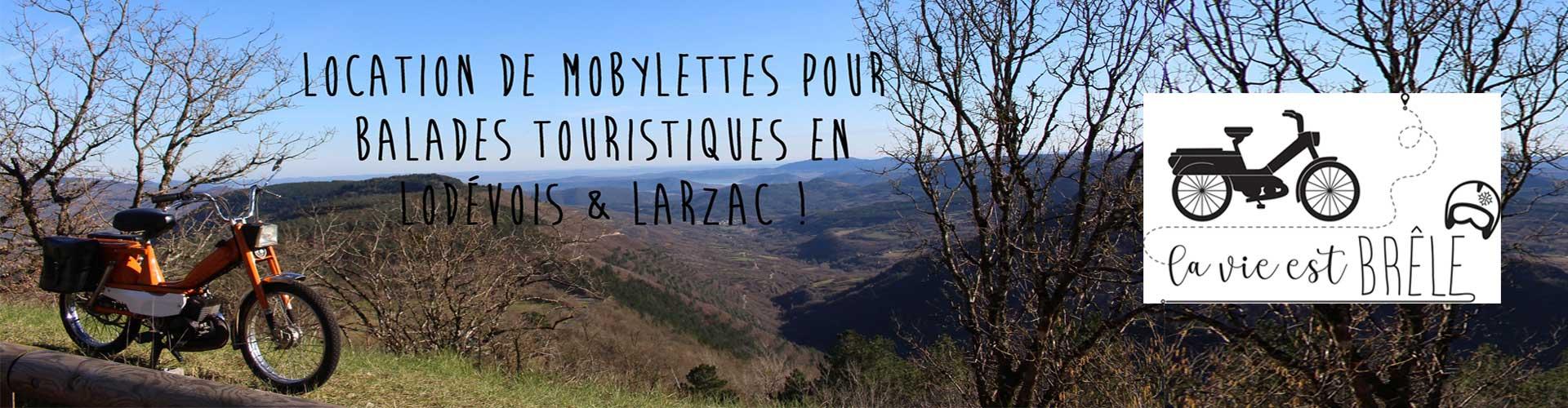 La Vie est Brêle, balades à mobylette en Lodévois et Larzac