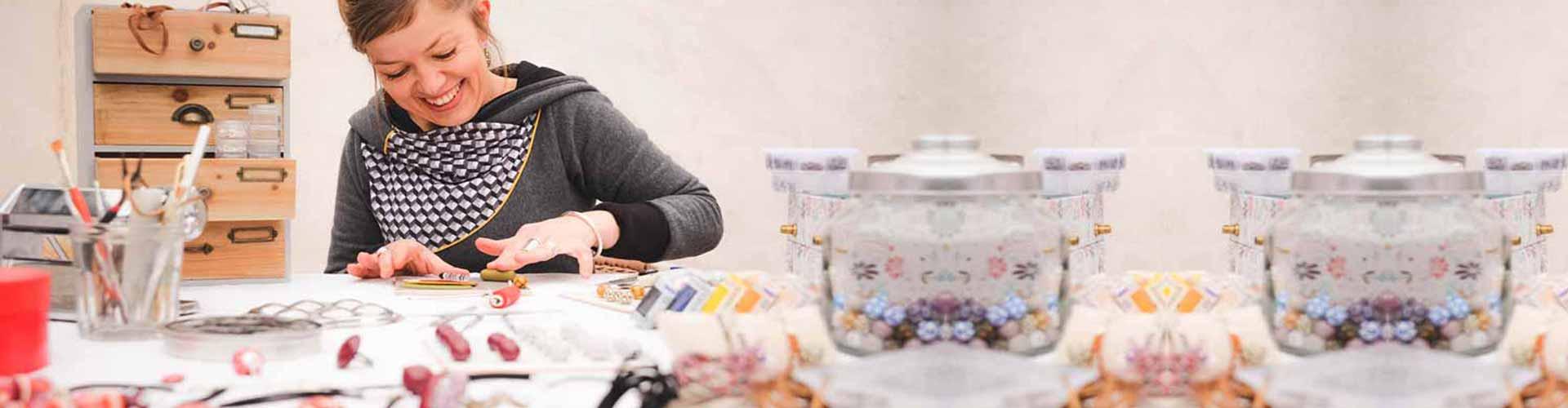 L'atelier de Marion, création de bijoux artisanaux dans l'Hérault