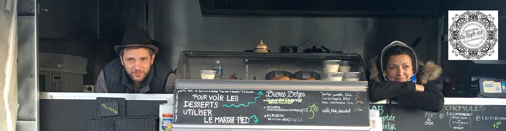 Au Raph-iné, food truck, street food au Pouget en Coeur d'Hérault