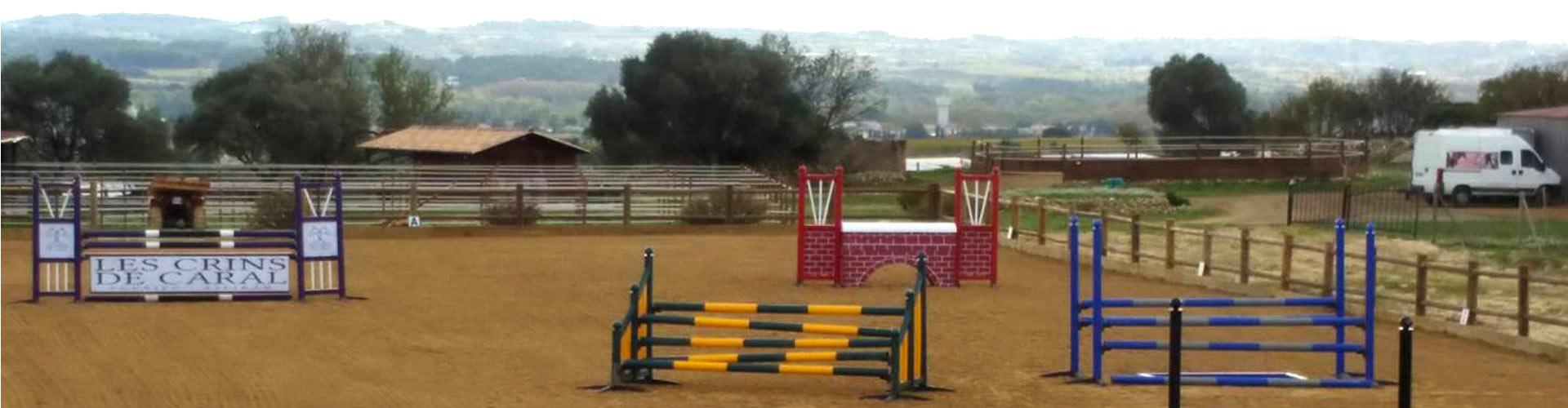 Les crins de caral, pesion pour chevaux à Aspiran dans l'Hérault