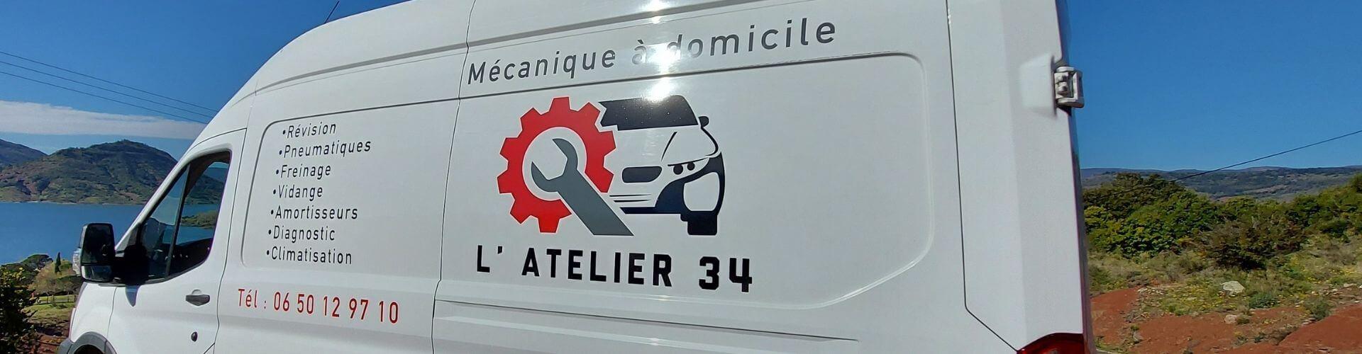 L'Atelier 34 Ceyras mécanique