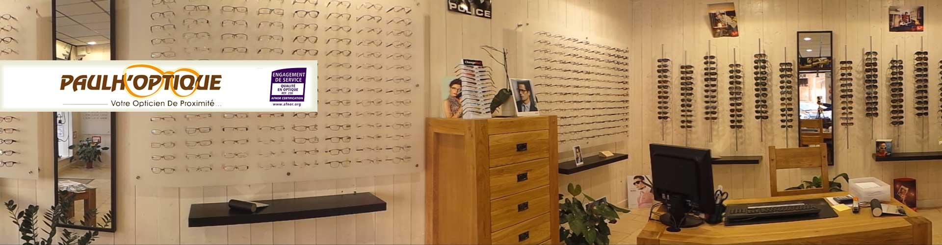 Paulh'optique, un large choix de lunettes à Paulhan