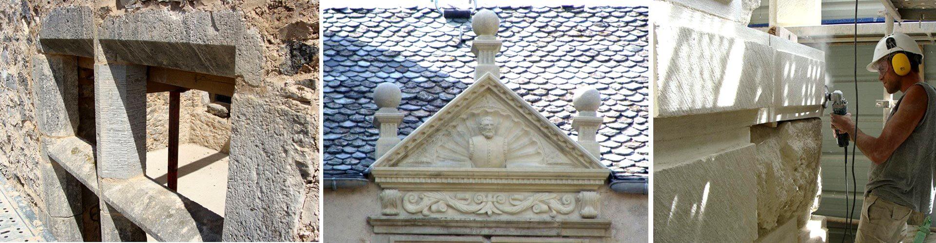 Muzzarelli Et Fils, Maçonnerie, Taille de Pierre, restauration du patrimoine bâti et des monuments historiques
