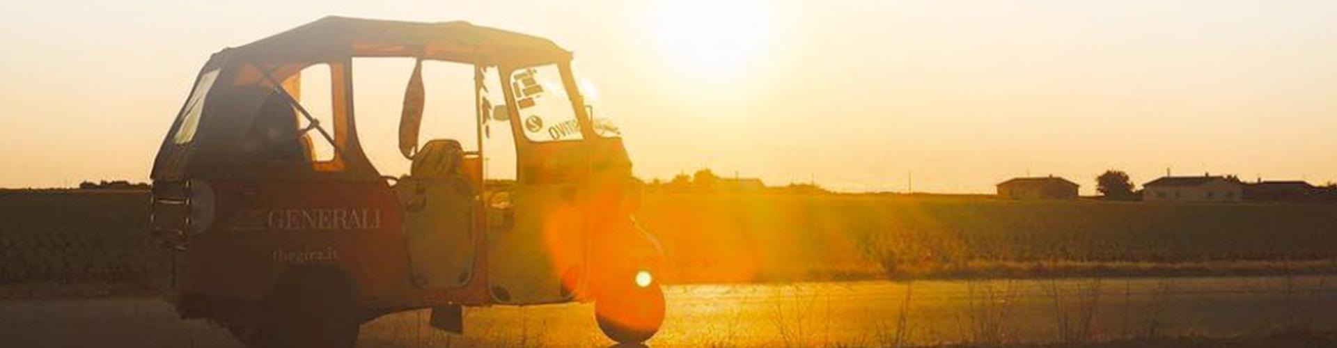 The Gira, aventure en tuktuk en France, Esoagne et Italie