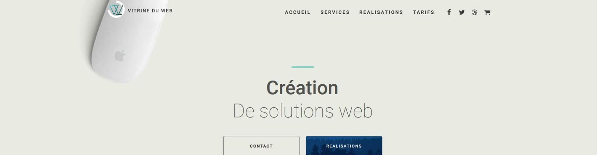 Vitrine du Web