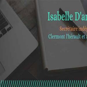 Isablle d'Antoni secrétaire freelance, assistante de gestion à Clermont l'Hérault