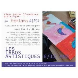 Le petit labo de l'art ateliers arts plastiques pour les enfants