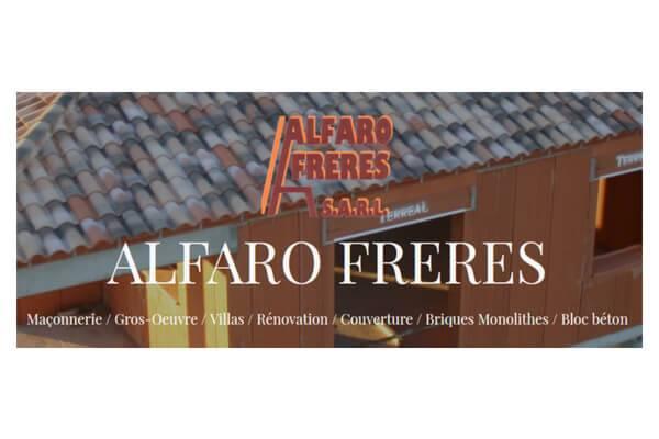 Alfraro Frères maçonnerie à Gignac