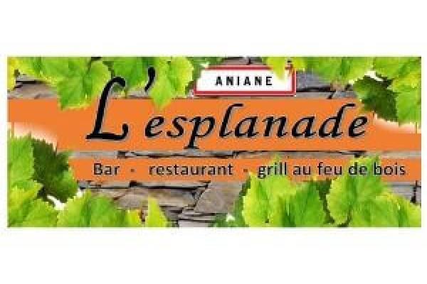 Bar de l'esplanade restaurant à Aniane en Coeur d'Hérault