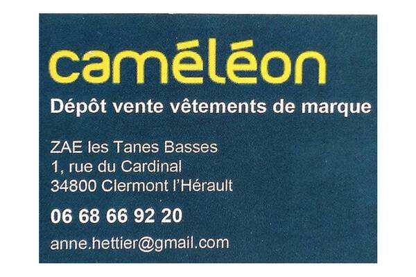 Caméléon Clermont l'Hérault