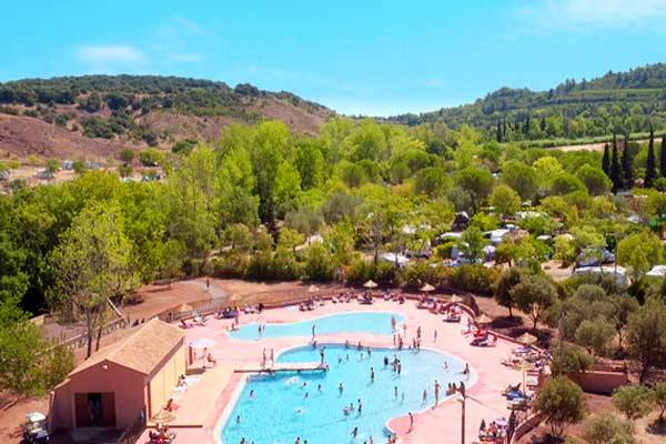 Camping Club Lac du Salagou en Coeur d'Hérault