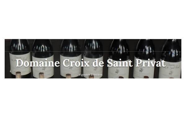 Domaine Croix de St Privat
