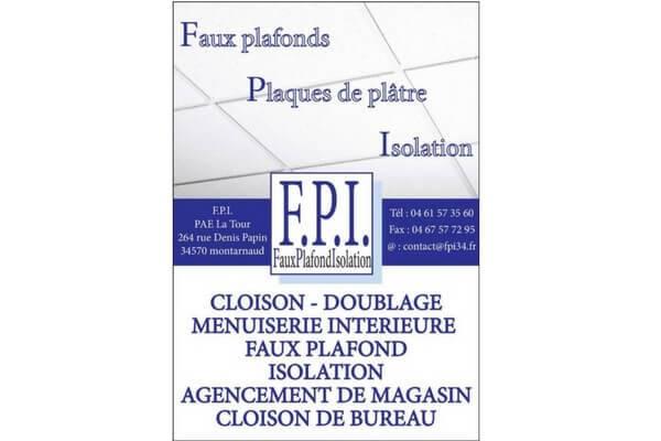 Faux plafonds Plaques de plâtres Isolation à Montarnaud en Coeur d'Hérault