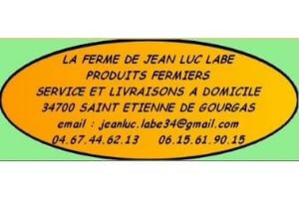 La ferme de Jean luc Labe à Saint Etienne de Gourgas
