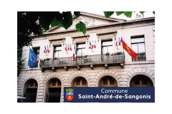 Mairie de Saint André de Sangonis
