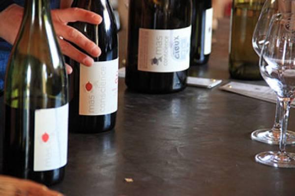 Mas Conscience domaine viticole à Saint jean de Fos