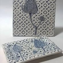 Assiette céramique, Alison Goddard Ramond