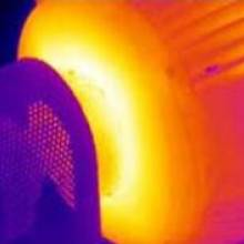 Thermographie infrarouge roulement
