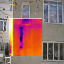Thermographie infrarouge isolation