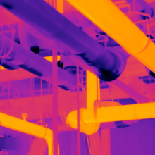 Thermographie infrarouge réseau