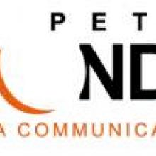 logo de l'agence de communication, le petit monde à Gignac en Coeur d'Hérault