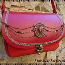 Manouchka Créations, artisan d'art, maroquinerie en coeur d'hérault
