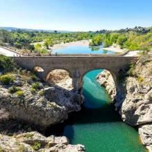Le Pont du Diable à Saint Jean de Fos