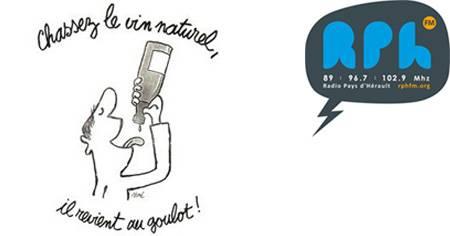 Glou glou l'emission sur les vins naturels de Radio Pays d'Hérault