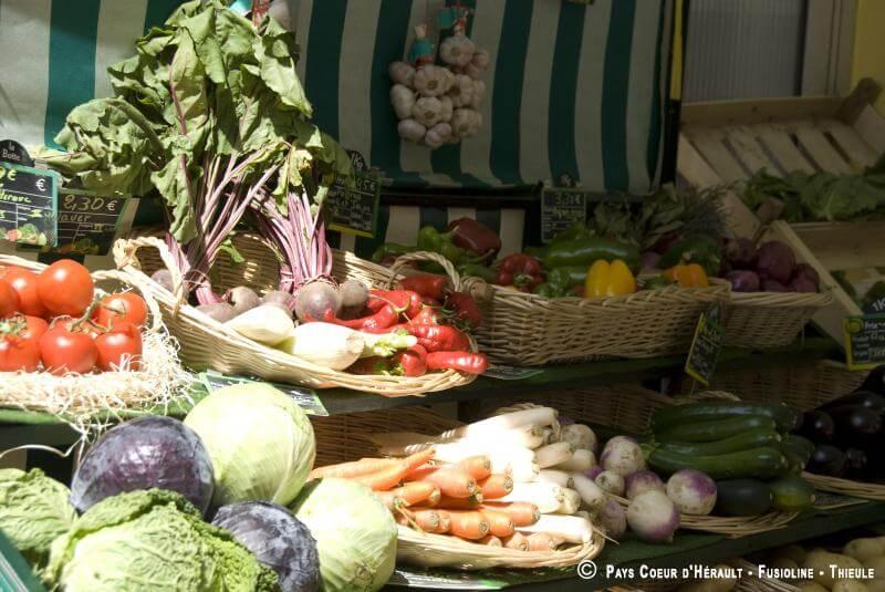 Liste des marchés en Coeur d'Hérault