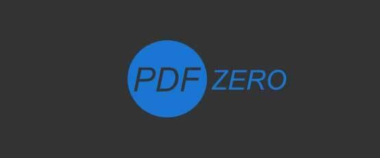 PDF zero, un outil gratuit de gestion des pdf