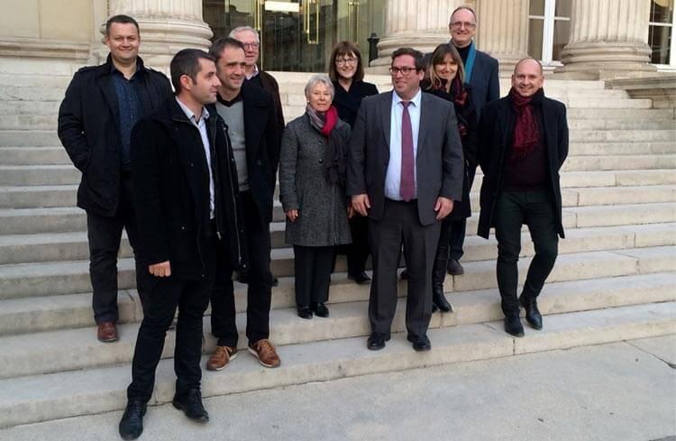 Le CLUB des Entreprises du Cœur d'Hérault au Ministère de l'Economie et des Finances