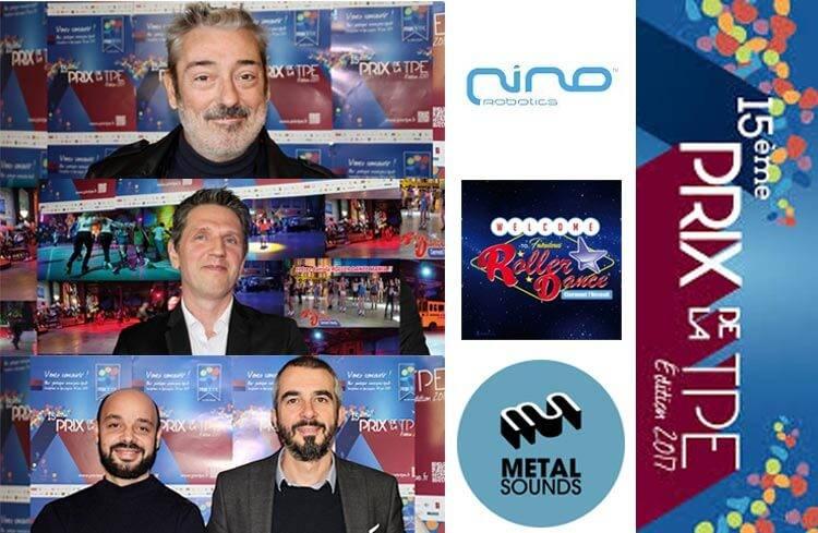 Nino Robotics, Roller Dance, Metal Sounds lauréats de la finale du Prix de la TPE 2017