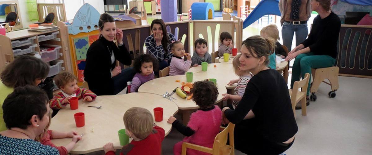 Les ateliers dans les crèches du Coeur d'Hérault à Lodève en février 2015