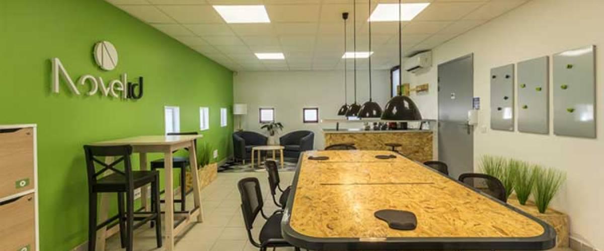 Ouverture d'un espace de coworking et télétravail à Saint André de Sangonis