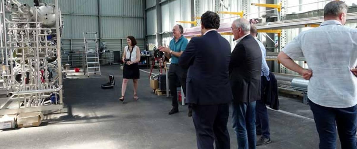 Nereus inaugure son nouvel atelier au Pouget le 23 mai 2018