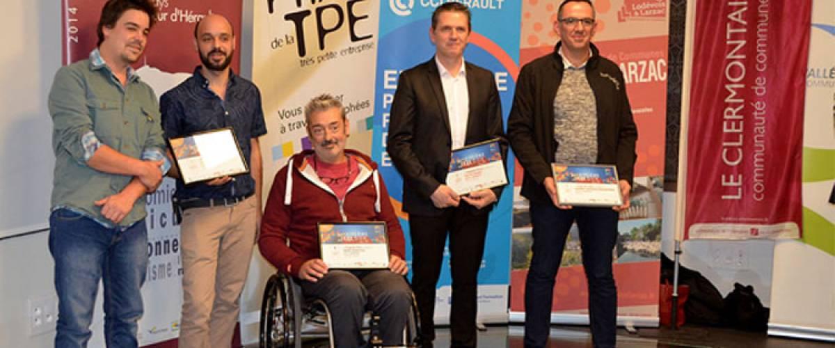 Les lauréats 2017 du 15ème Prix de la TPE en Coeur d'Hérault