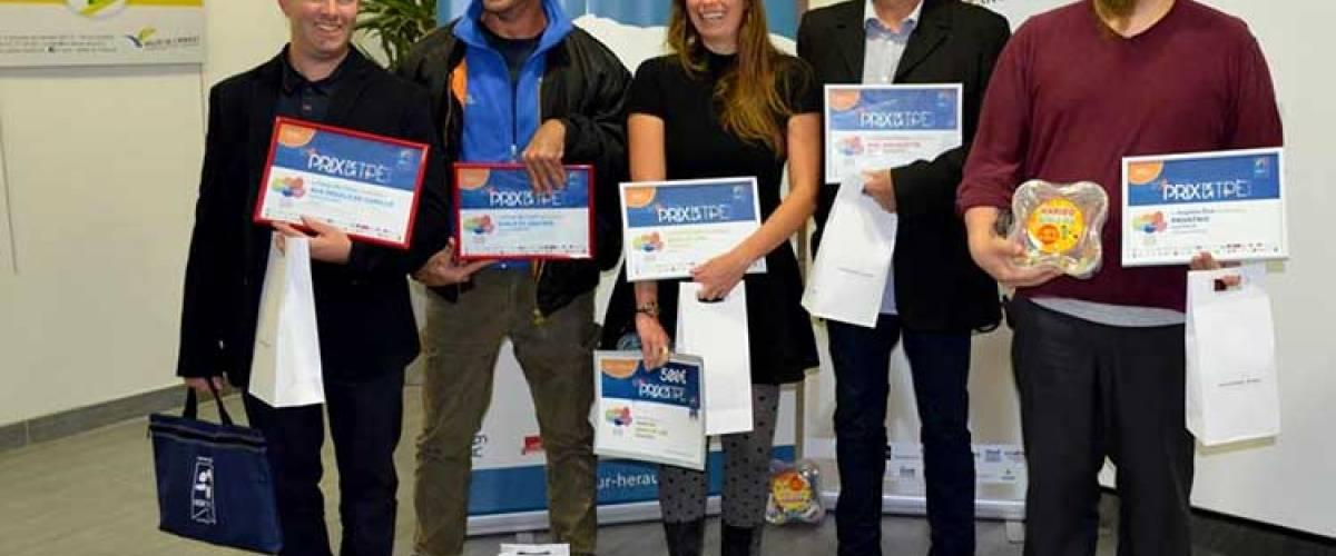 Les lauréats du Prix de la TPE 2018 en Coeur d'Hérault