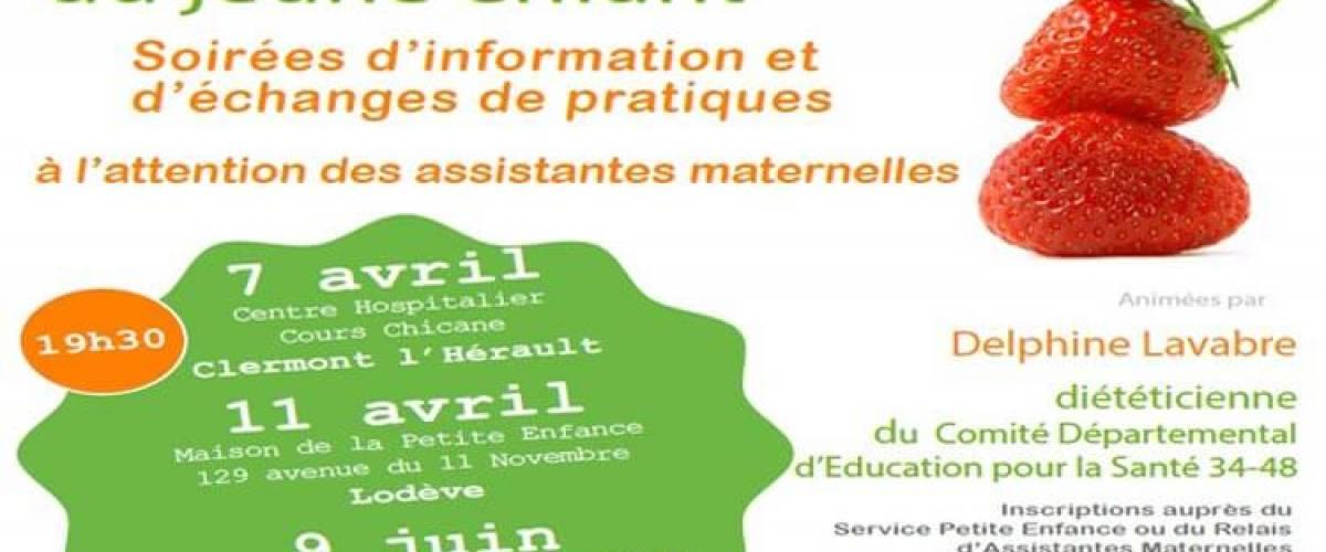 Programme « Nutrition des 0-6 » porté par le CODES 34-48